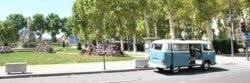 Arthur devant le parc Foch à Lyon